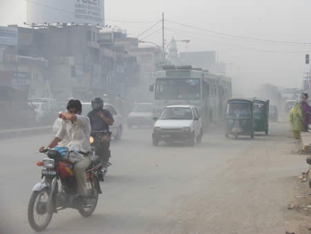 Road Pollution