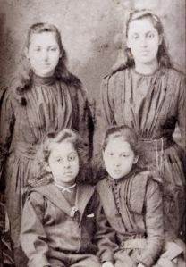 From Top Left: Princesses Catherine,Bamba,Prince Edward and Princess Sophia