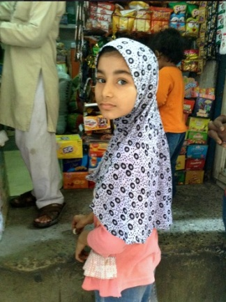 Little Girl in Hijab