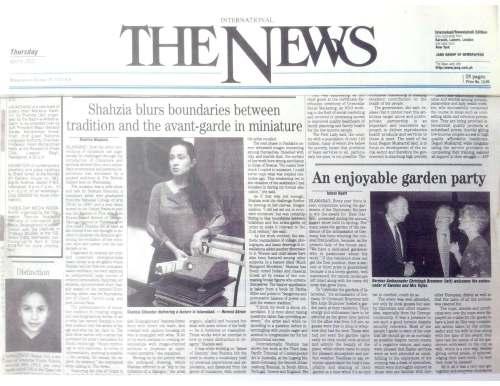 The News April 2002